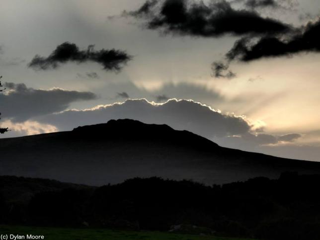 Sonnenuntergang in Pembrokeshire