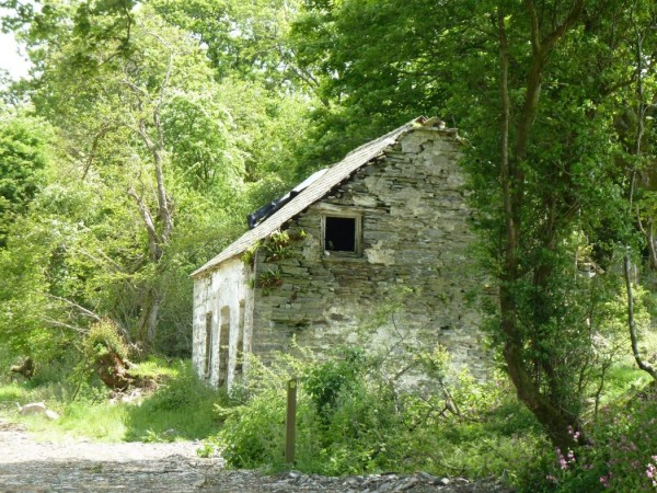 Cottage in Pembrokeshire, Handlungsort von A Time for Silence