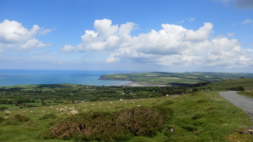 Landschaft Pembrokeshires - die Hauptfigur in Thorne Moores Romanen