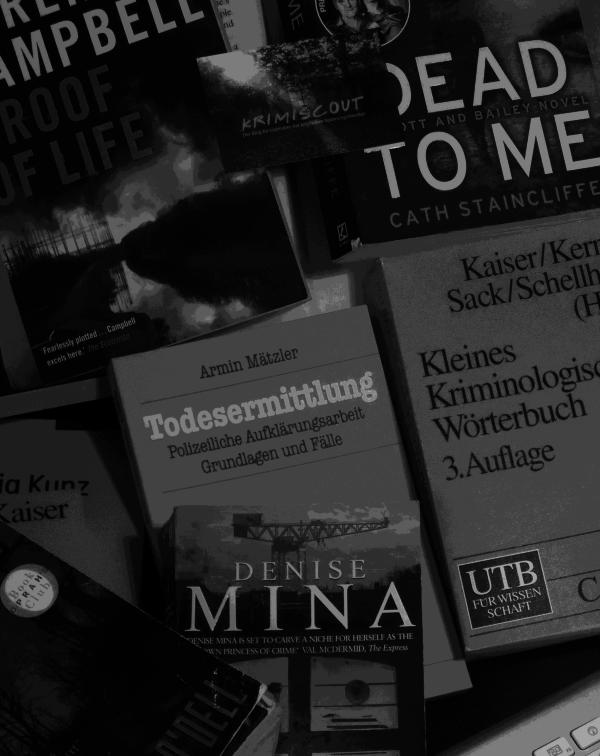 Krimiscout ermittelt: Englische Kriminalliteratur für deutsche Leser