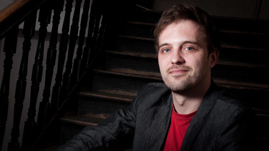 Porträtbild Jan Schönherr im Interview mit Krimiscout in der Reihe Sagen Sie mal
