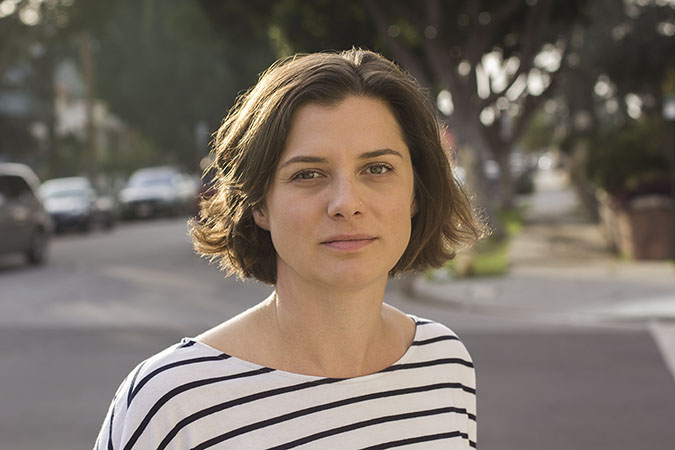 Porträtphoto der Autorin Ivy Pochoda im Interview mit Krimiscout.