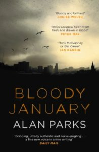 Buchcover Bloody January